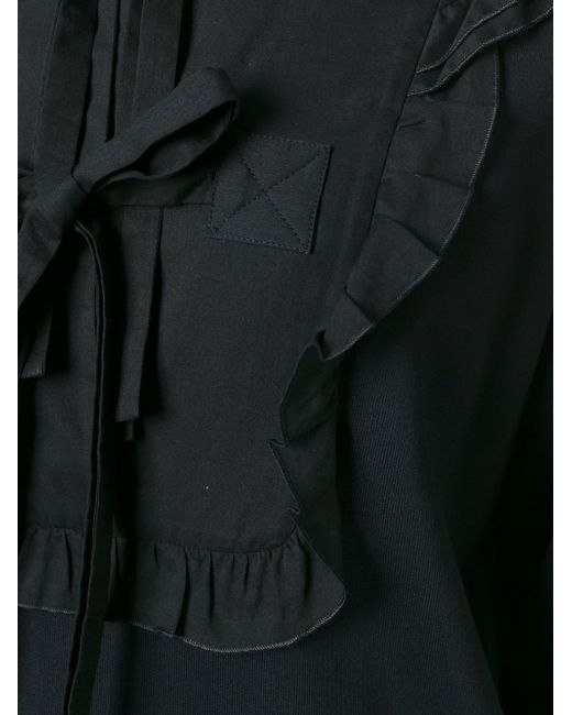 Ruffle Tie Detail Jumper No21                                                                                                              чёрный цвет