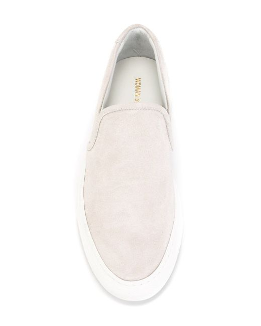 Classic Slip-On Sneakers Common Projects                                                                                                              серый цвет