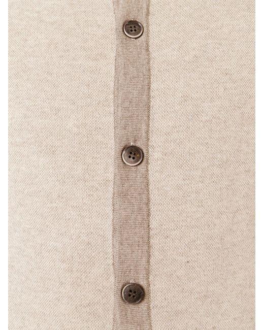 Двухцветный Кардиган Hackett                                                                                                              Nude & Neutrals цвет