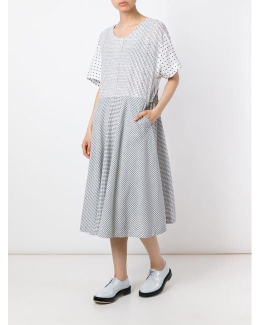 Acacia Dress Henrik Vibskov                                                                                                              белый цвет