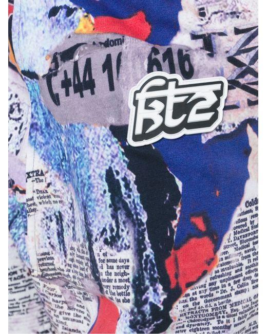 Брюки С Графическим Принтом Ktz                                                                                                              чёрный цвет