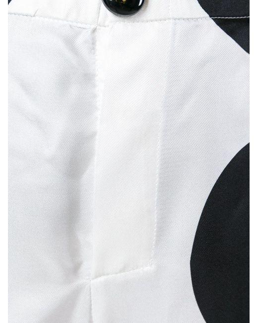 Костюм С Геометрическим Узором F.R.S.                                                                                                              белый цвет