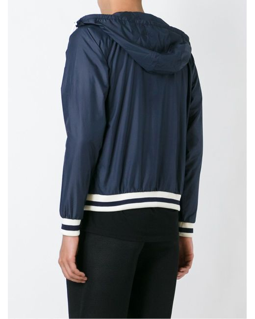 Zipped Hooded Jacket Maison Kitsune                                                                                                              синий цвет
