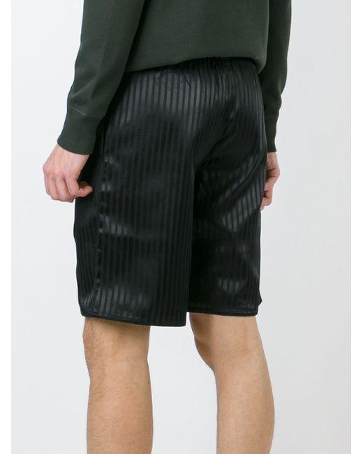 Honour Striped Shorts HAN KJOBENHAVN                                                                                                              чёрный цвет