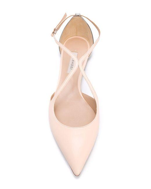 Two Tone Ballerinas Casadei                                                                                                              розовый цвет
