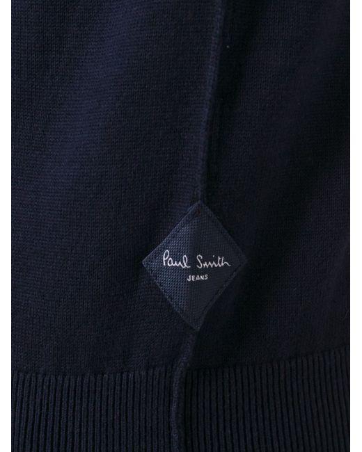 Классическая Толстовка Paul Smith                                                                                                              синий цвет