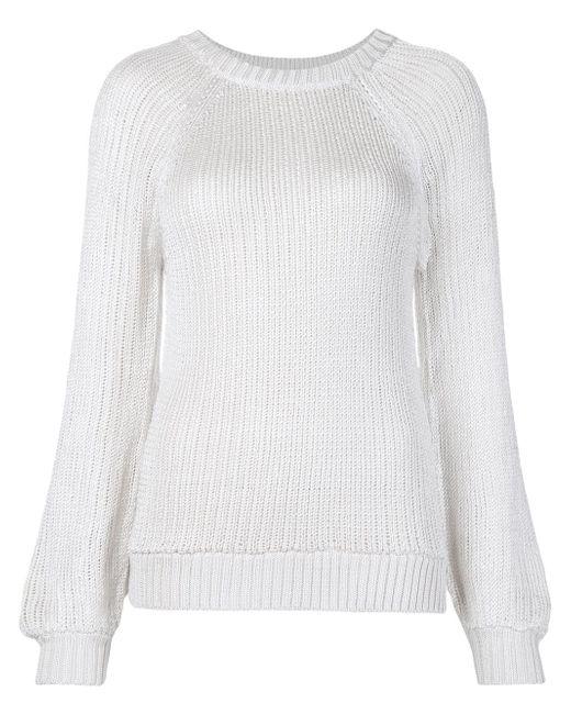 Crew Neck Sweater Maiyet                                                                                                              белый цвет