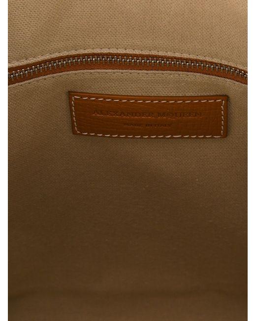 Сумка-Тоут Legend Alexander McQueen                                                                                                              коричневый цвет