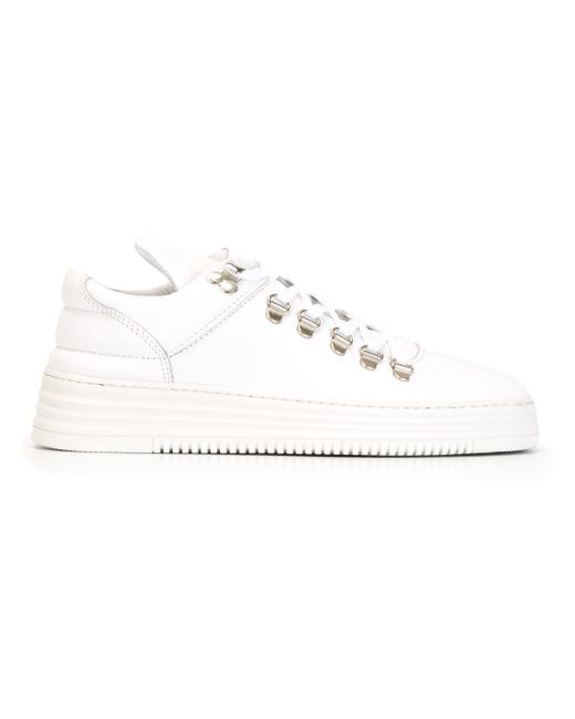 Кеды Mountain Cut Filling Pieces                                                                                                              белый цвет
