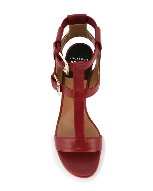 Босоножки Diane Laurence Dacade                                                                                                              красный цвет