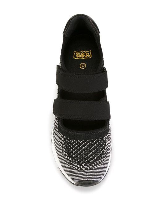 Кроссовки Lulu Ash                                                                                                              чёрный цвет