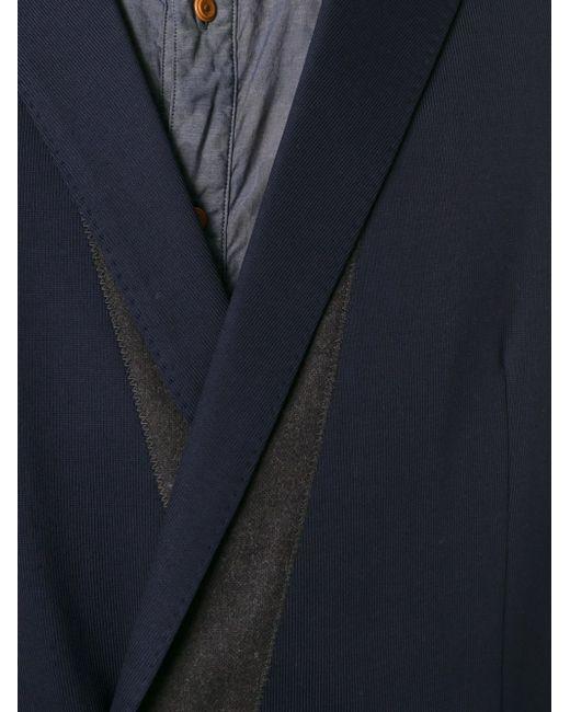 Двубортный Блейзер Kolor                                                                                                              синий цвет