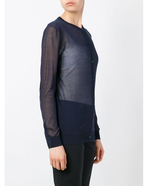 Классический Кардиган Nina Ricci                                                                                                              синий цвет