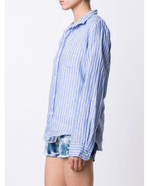 Striped Shirt FRANK & EILEEN                                                                                                              синий цвет