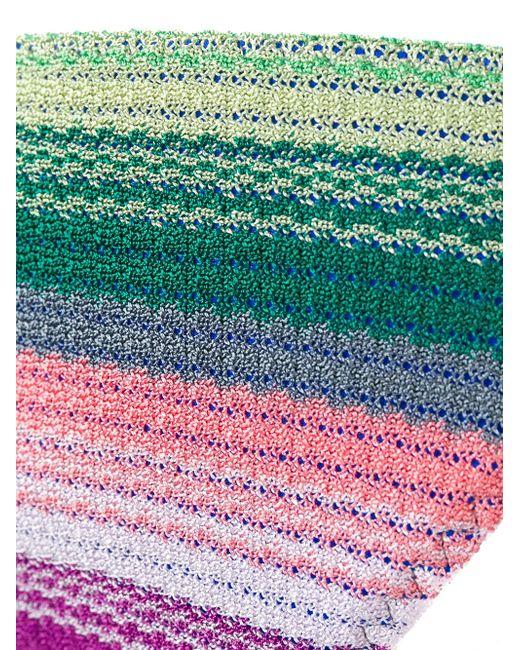 Полосатое Бикини С Треугольным Верхом Missoni                                                                                                              многоцветный цвет