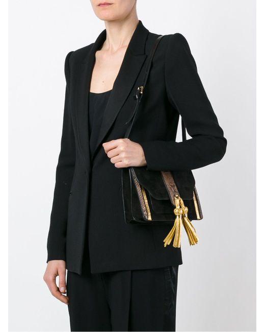 Tassel Detail Shoulder Bag L' Autre Chose                                                                                                              чёрный цвет