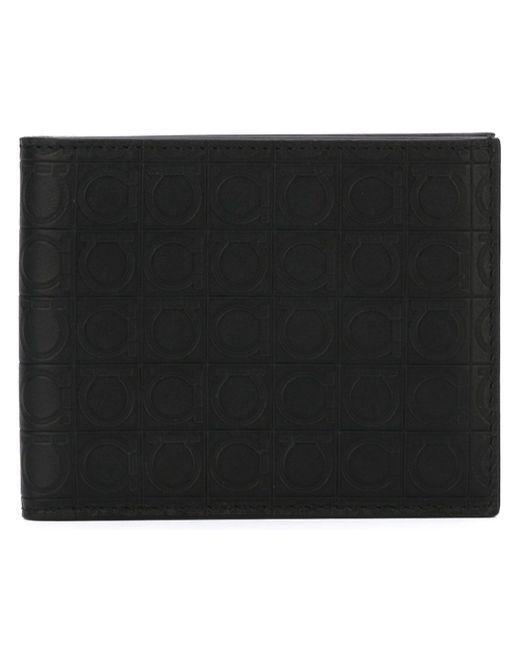 Бумажник Gancino Salvatore Ferragamo                                                                                                              чёрный цвет
