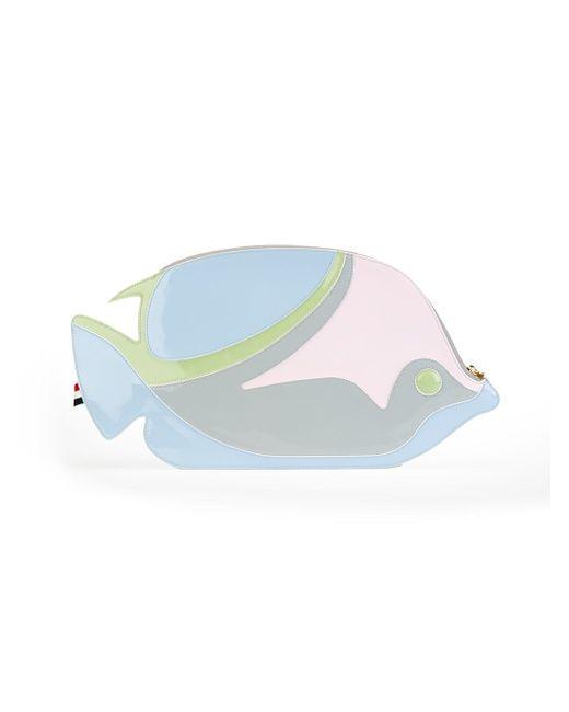 Клатч В Форме Рыбы Thom Browne                                                                                                              синий цвет