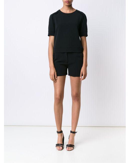 Frayed Edge Shorts JEFFREY DODD                                                                                                              чёрный цвет