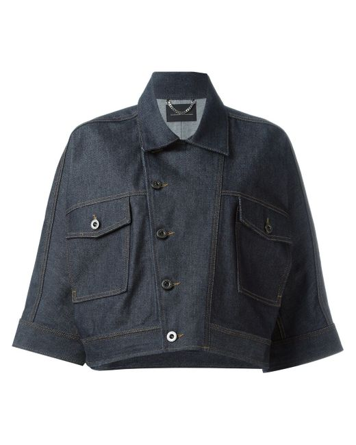 Укороченный Пиджак Wernery Diesel Black Gold                                                                                                              синий цвет