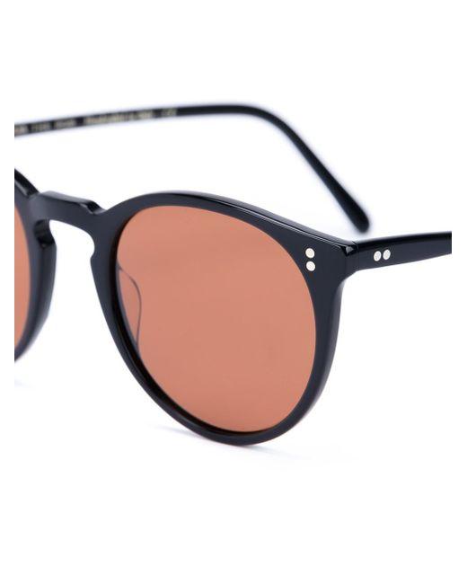 Round Frame Sunglasses The Row                                                                                                              чёрный цвет