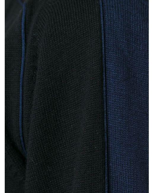 Bi-Colour Cardigan Sacai                                                                                                              чёрный цвет