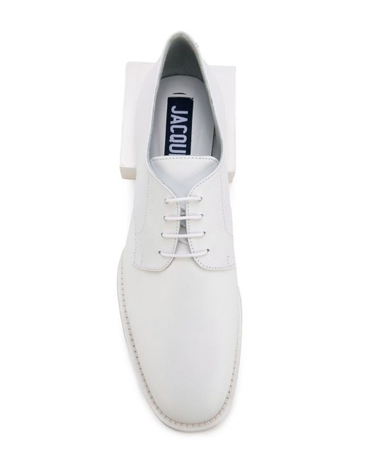 Clown Derby Shoes JACQUEMUS                                                                                                              белый цвет