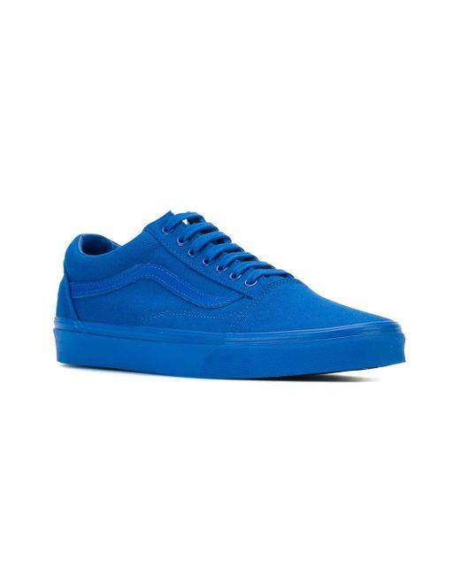 Кроссовки Old Skool Vans                                                                                                              синий цвет