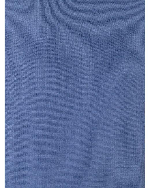 Джемпер Плотной Вязки Michael Kors                                                                                                              синий цвет
