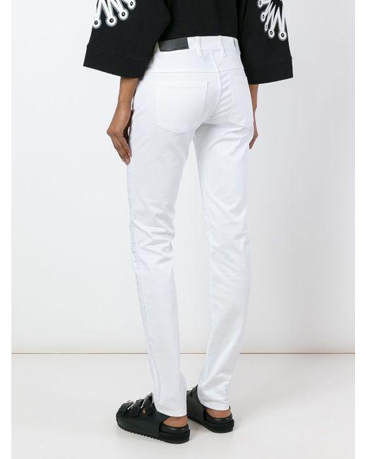 Skinny Pleated Trousers Diesel Black Gold                                                                                                              белый цвет