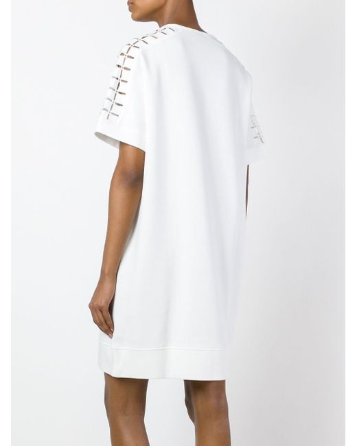 Платье-Футболка Diesel Black Gold                                                                                                              белый цвет