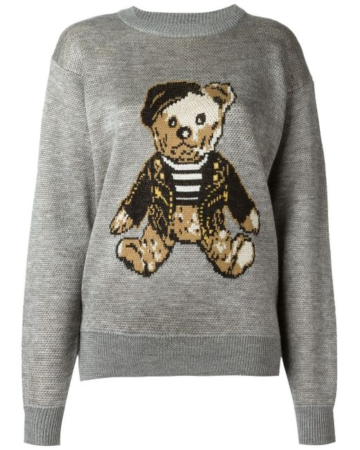 Teddy Bear Jumper Joyrich                                                                                                              серый цвет