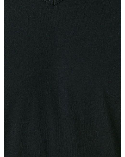 Футболка С V-Образным Вырезом MAJESTIC FILATURES                                                                                                              чёрный цвет