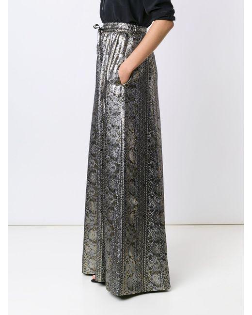Brocade Maxi Skirt VANESSA SEWARD                                                                                                              серебристый цвет