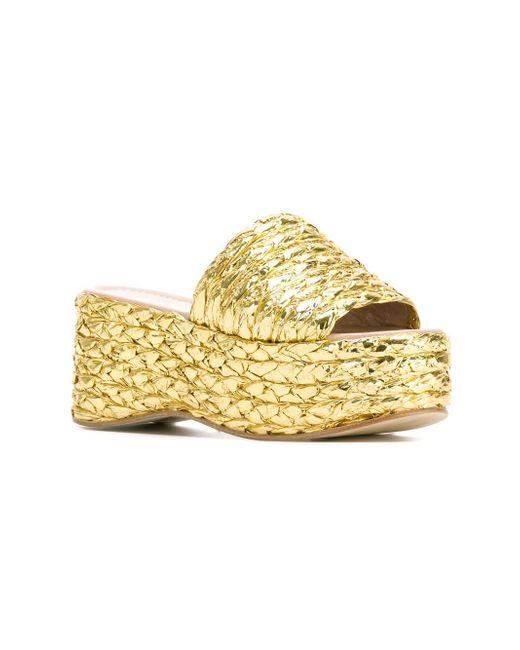 Orianna Sandals Aperlai                                                                                                              серебристый цвет
