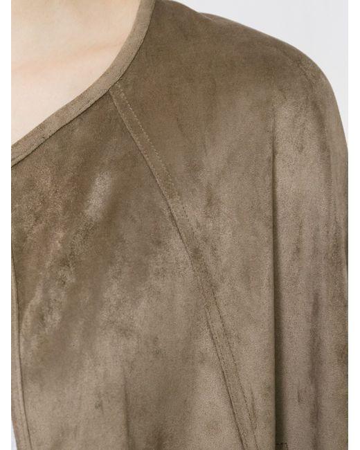 Koko Cape Unreal Fur                                                                                                              Nude & Neutrals цвет