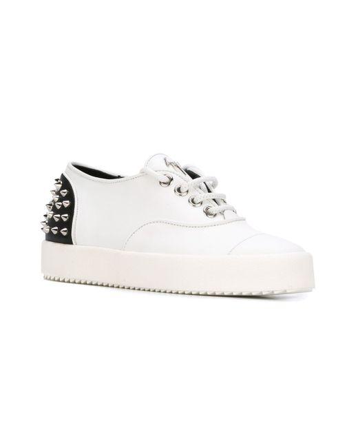 Rebecca Sneakers Giuseppe Zanotti Design                                                                                                              белый цвет