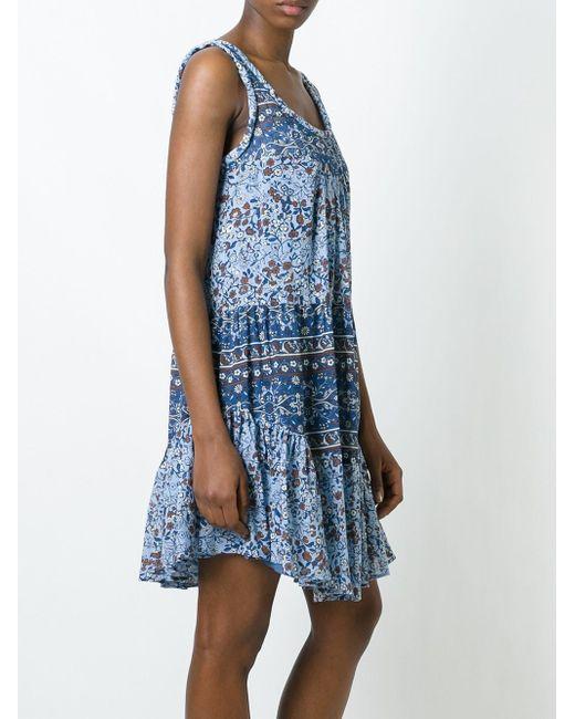 Платье С Принтом See By Chloe                                                                                                              синий цвет