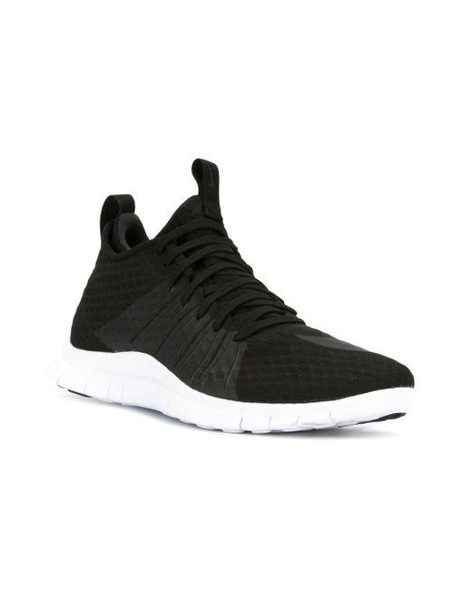 Кроссовки Free Hypervenom 2 Nike                                                                                                              чёрный цвет