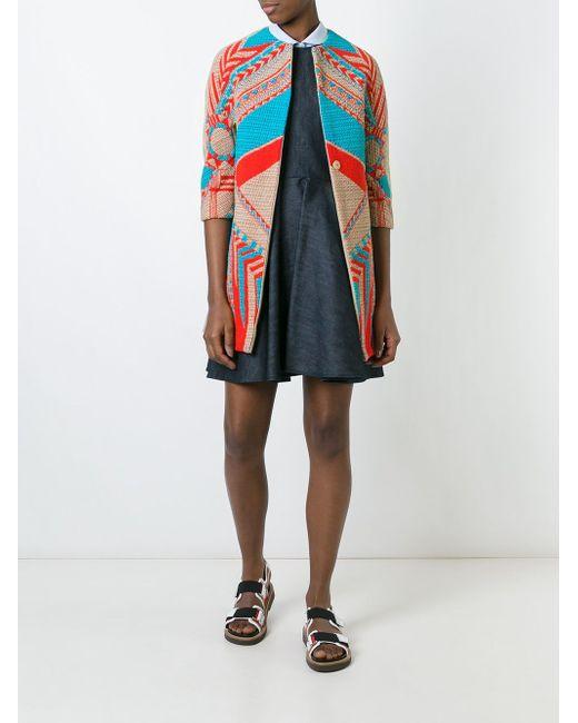 Woven Overcoat AVA ADORE                                                                                                              многоцветный цвет