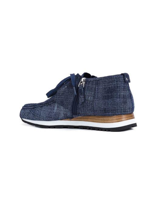 Ботинки Jordie Derek Lam 10 Crosby                                                                                                              синий цвет