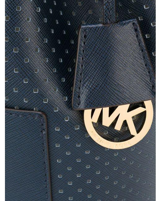 Сумка-Мешок Greenwich Michael Michael Kors                                                                                                              синий цвет