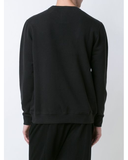 Panther Patch Sweatshirt Maharishi                                                                                                              чёрный цвет
