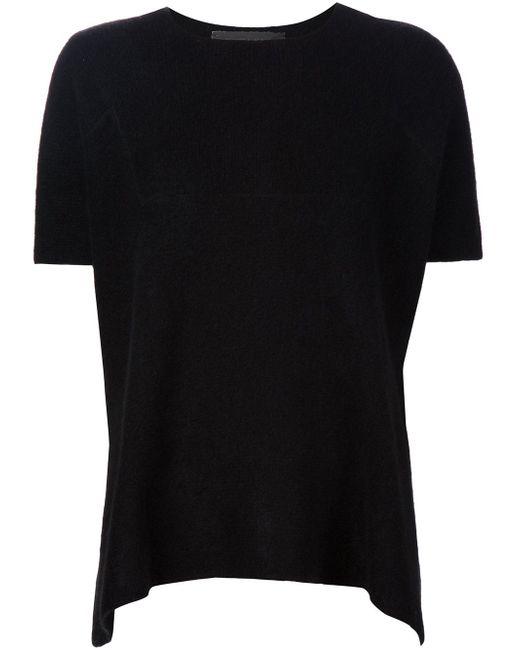 Knitted T-Shirt The Elder Statesman                                                                                                              чёрный цвет