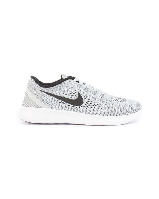 Free Run Sneakers Nike                                                                                                              серый цвет