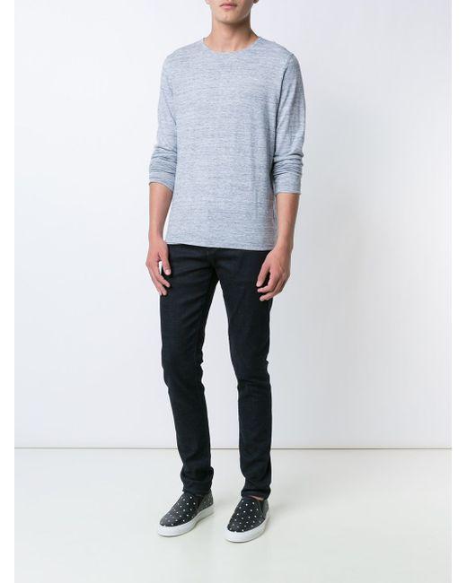 Crew Neck Sweater Vince                                                                                                              синий цвет