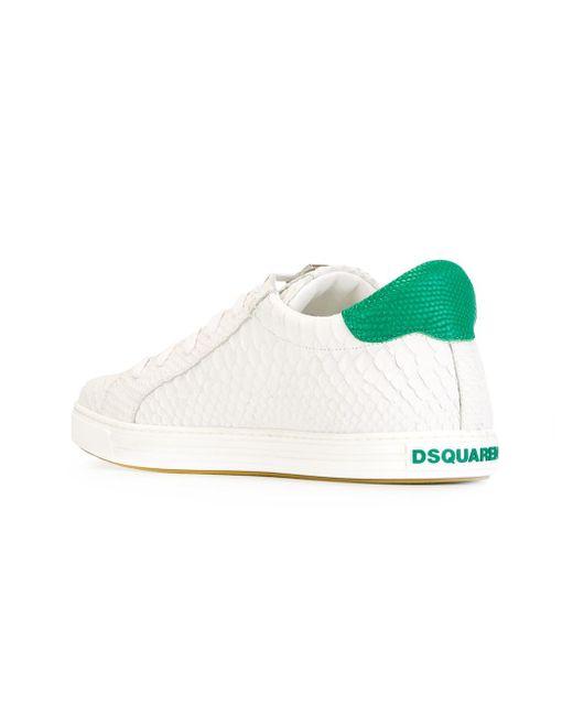 Кроссовки Tennis Club Dsquared2                                                                                                              белый цвет