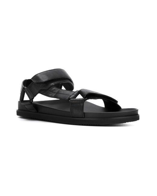 Velcro Strap Sandals Joseph                                                                                                              чёрный цвет