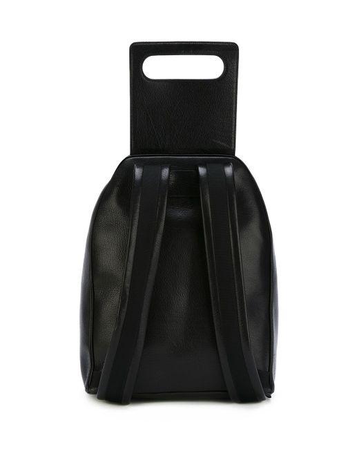 Рюкзак С Откидным Клапаном Jil Sander                                                                                                              чёрный цвет