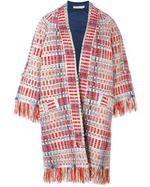 Пиджак Erica Tory Burch                                                                                                              красный цвет